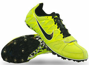 Men's Green Nike Zoom Rival S | Running Shoes | Size 6