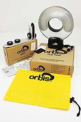 Orbis Ring Flash And Bracket New No Reserve