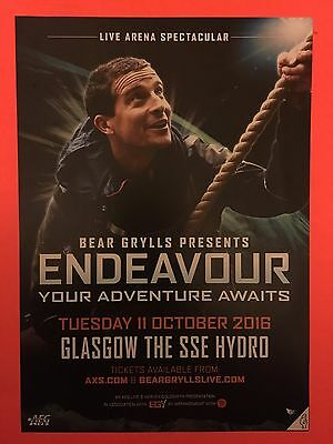 Mint Bear Grylls Presents Endeavour Your Adenture Awits 2016 Flyer