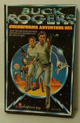 vtg 1979 Colorforms UNUSED Buck Rogers Complete Set in Box NEVER PLAYED WITH