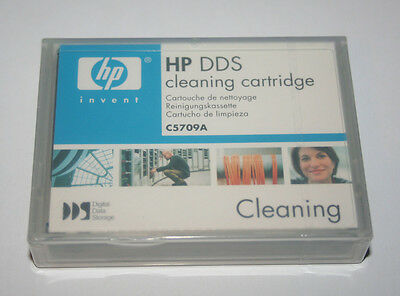 Genuine HP C5709A DDS Cleaning Tape 4mm New & Sealed - Free UK Mainland P&P!