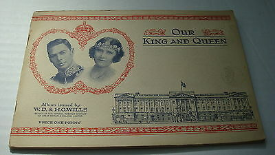 Golf Scouts Vintage Original Wills Our King & Queen **full**album  Very Good