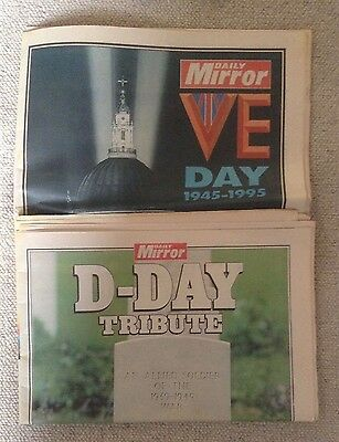 50th Anniversary of D-Day and VE Day - Daily Mirror Supplements
