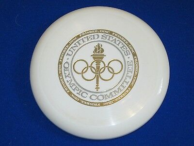 NEW-1975 Frisbee Flying Disc US Olympic Sports Game 100 (130 Grams) Wham-O