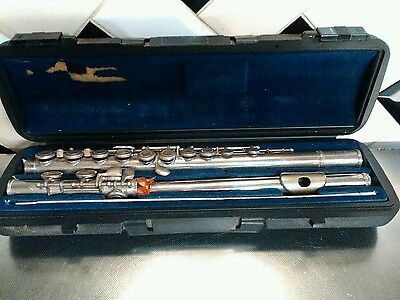 Vintage Flute In Case Lovely Condition