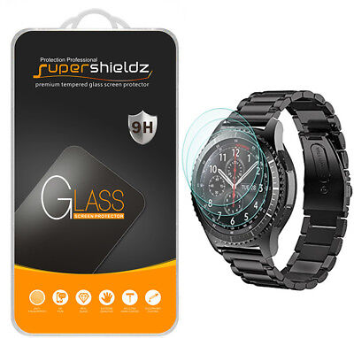 3X Supershieldz for Samsung Gear S3 Frontier Tempered Glass Screen Protector