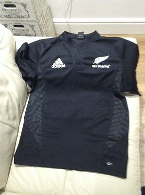 Mens Adidas New Zealand Rugby Shirt Size M