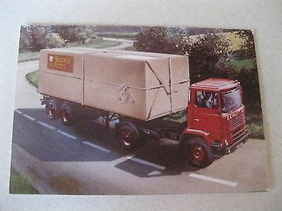 Royal Mail Leyland Truck Centinery 1960,70,s Postcard Of An Original Advert Rare