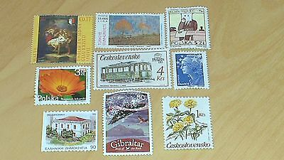 European Unfranked Stamps