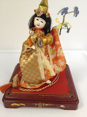 Antique Collectible GEISHA Girl Japanese On Display Unique Dress Fragile