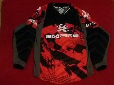 Mens Empire Prevail Paintball Padded Elbow Jersey Sz Medium