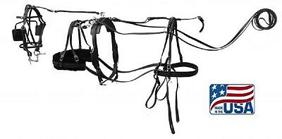 Mini Horse or Small Pony Premium Quality Synthetic Driving Harness 3132
