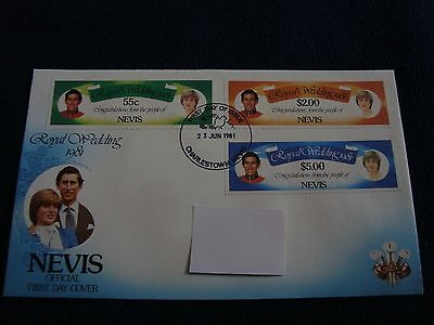 Nevis  - Royal Wedding 1981 First Day Cover