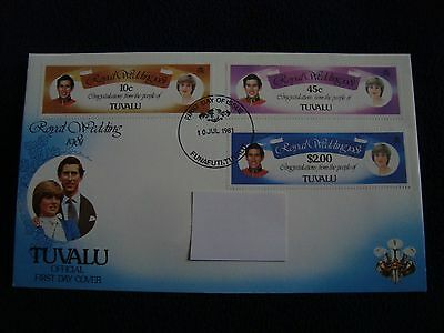 Tuvalu - Royal Wedding 1981 First Day Cover