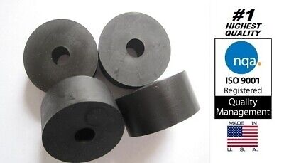 "Premium Rubber Multi-purpose Spacer, 2"" OD x 1/2"" ID x 1"" Thick (AVS-X19-19)"