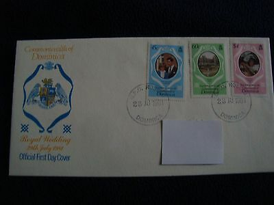 Commonwealth Of Dominica - Royal Wedding 1981 First Day Cover