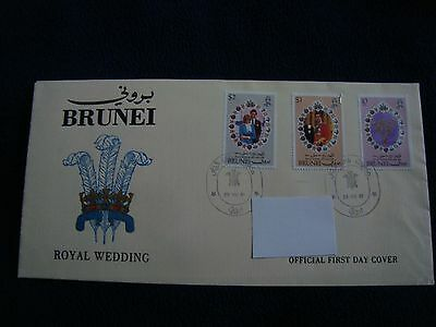Brunei - Royal Wedding 1981 First Day Cover