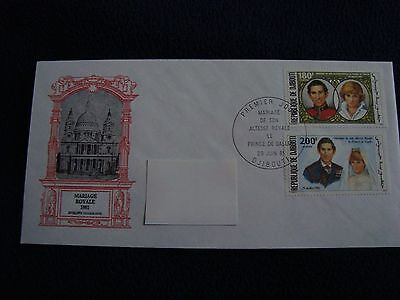 Djibouti - Royal Wedding 1981 First Day Cover