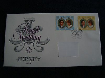 Jersey - Royal Wedding 1981 First Day Cover