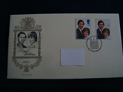 London - Royal Wedding 1981 First Day Cover