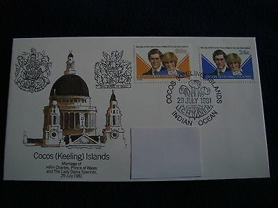 Cocos (Keeling Islands) - Royal Wedding 1981 First Day Cover