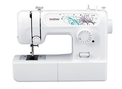 New Brother Sewing Machine Electric Foot Pedal and 14 Stitch, 3 Yr Warranty Home