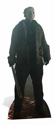 Jason Voorhees Friday the 13th Cardboard Cutout / Standee / Standup halloween
