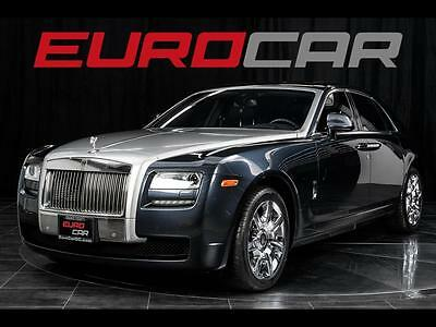 2013 Rolls-Royce Ghost Base Sedan 4-Door 2013 ROLLS ROYCE GHOST, SILVER OVER WHITE, ALL OPTIONS, IMMACULATE
