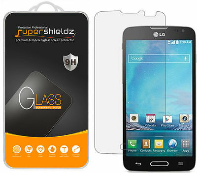 3X Supershieldz for LG Optimus L90 Tempered Glass Screen Protector Saver