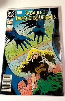 Advanced Dungeons & Dragons #3 DC Copper age comic  CB1425