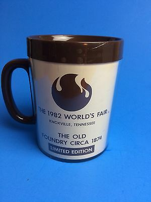 1982 Worlds Fair Knoxville Coffee Cup