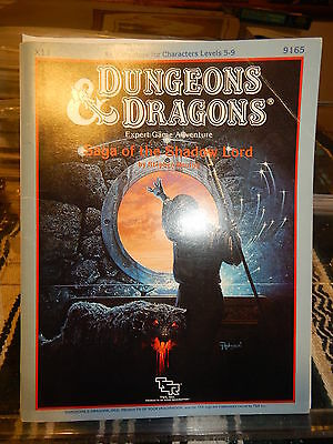TSR 9165 Expert Dungeons & Dragons X11 Saga of the Shadow Lord