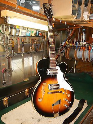 Rare 50's Vintage Kay Barney Kessel Pro Archtop Electric Guitar