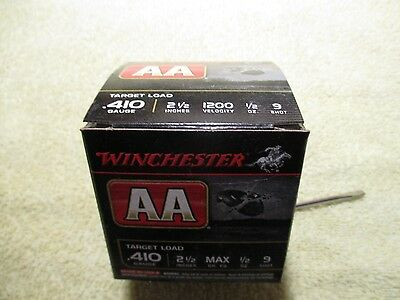 Vintage shot shell box...Winchester AA 410