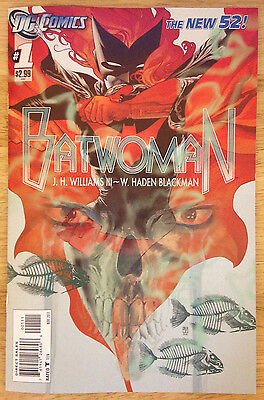Batwoman #1 The New 52 2011 DC Comic Book VF