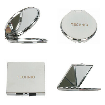 Technic Metal Compact Mirror - Round Or Square