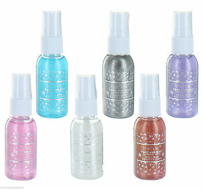 Technic Face & Body Glitter Shimmer Spray - Give Your Body Some Festival Sparkle