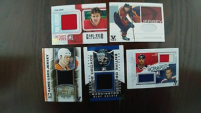 Lot of 5 1/1 Hockey Cards see Pictures