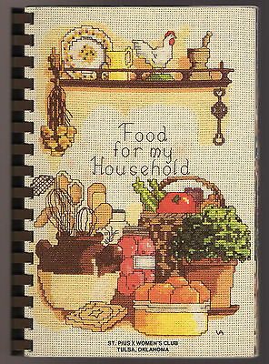 HOME TOWN RECIPES COOK BOOK  1986 Oklahoma St Pius X Women's club