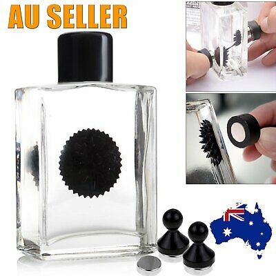 New Ferrofluid Magnetic Display Glass Bottle Puzzle Game Kid Science Toy Fun