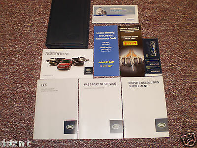 2014 Land Rover Lr2 Suv Owners Manual Books Guide Case All Models