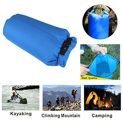 8L Ultralight Waterproof Dry Bag Pouch Compression Sack Camping Boating Rafting