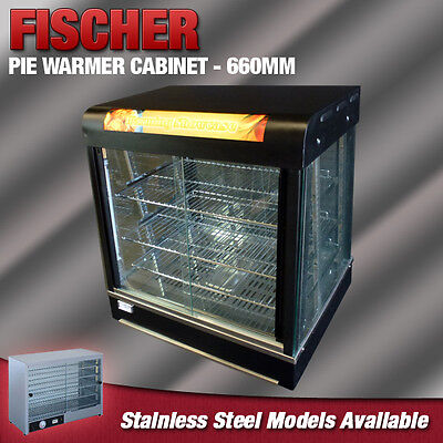 """""""brand New"""" Commercial Food Pie Warmer Hot Display Showcase Cabinet 660Mm Pw809B"""