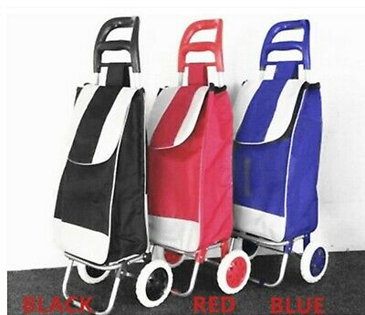 Foldable Shopping Trolley Cart Bag Market Carts Shoping Bags Basket Luggage
