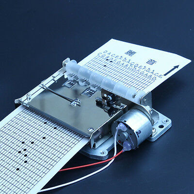 30 Notes DIY Motor Auto Music Box Movement+Puncher+ 5pcs Strips for Your Songs