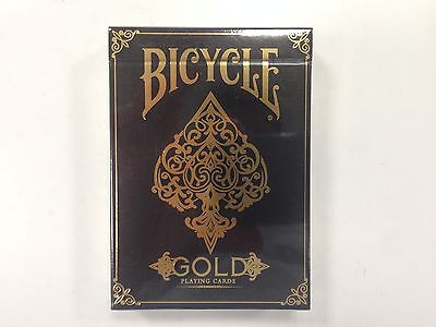 1 deck Bicycle Gold Playing Cards Brand New Printed By USPCC-S1021993335-B1
