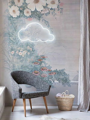 New Cloud 9 Neon Art Sign Handmade Visual Artwork Inspired by Le Petit Prince