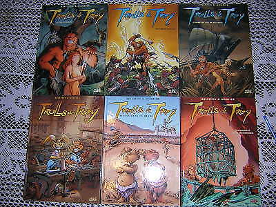 Troll de Troy lot de 6 volumes / Mourier - Arleston Ed soleil