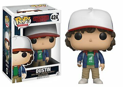 *NEW* Stranger Things: #424 Dustin w/ Compass POP Vinyl Figure by Funko