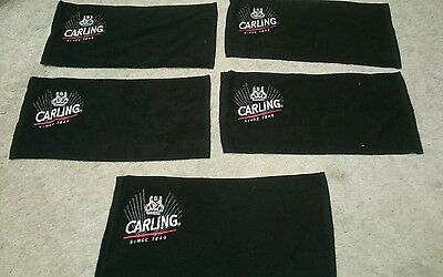 X5 Carling Bar Towels Brand New Home Pub/bar/mancave